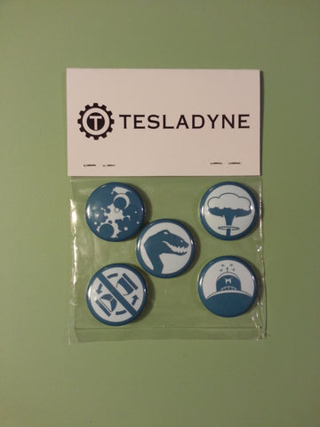 Tesladyne Buttons
