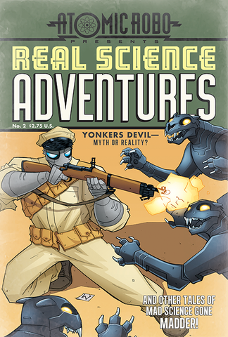 Real Science Adventures No. 2 Mini Poster