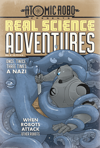 Real Science Adventures No. 4 Mini Poster
