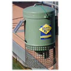 Pond King Mounted Fish Feeder