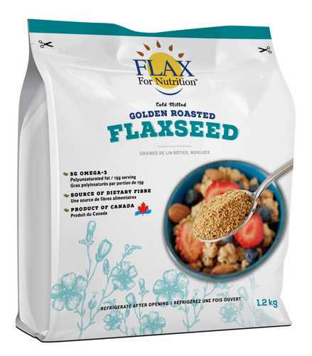 Cold Milled Golden Roasted Flaxseed