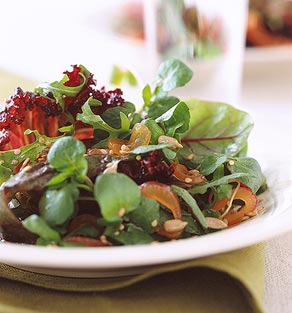 Tossed Roasted Flax Salad