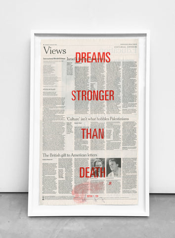 DREAMS STRONGER THAN DEATH