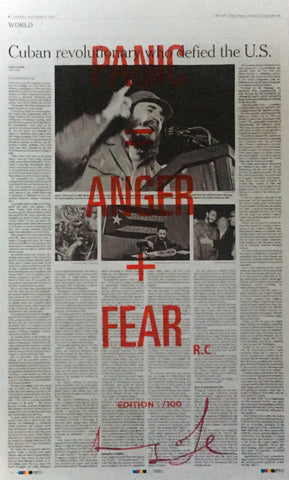 PANIC = ANGER + FEAR