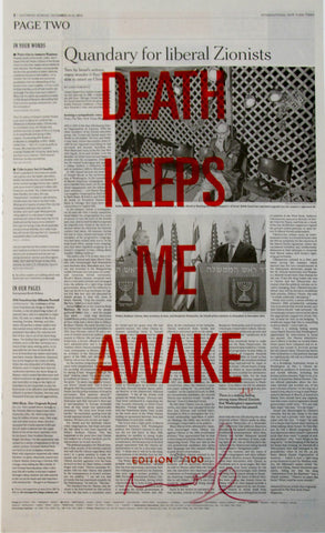DEATH KEEPS ME AWAKE