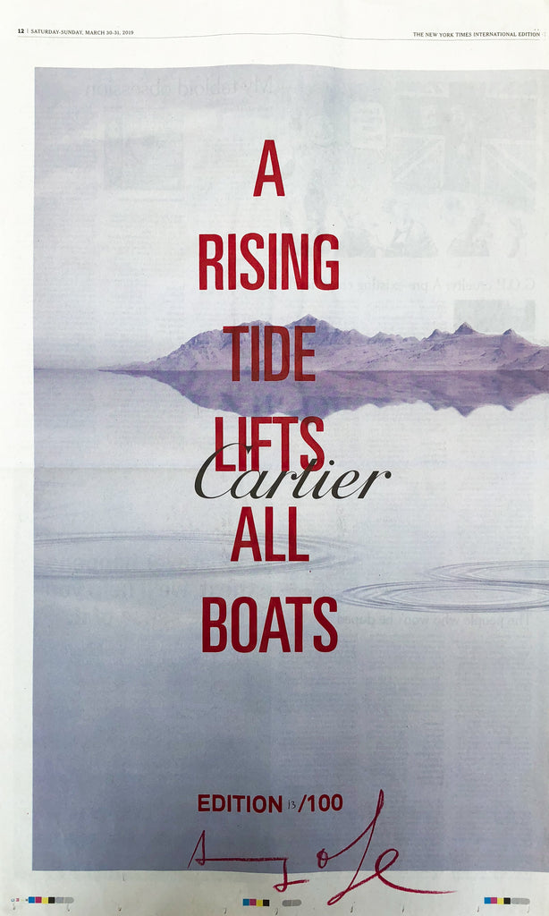 A RISING TIDE LIFTS ALL BOATS