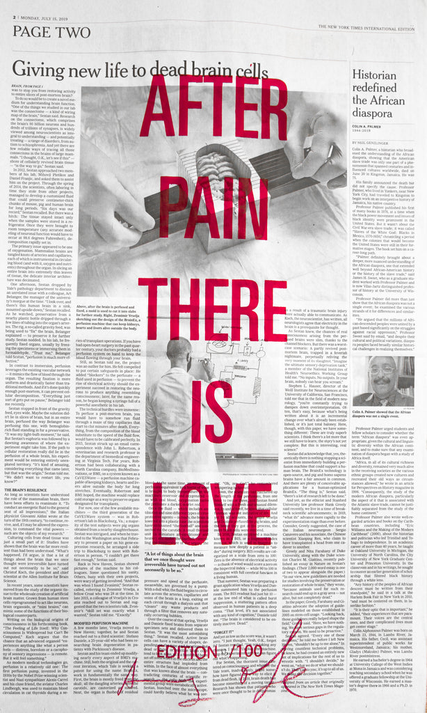 AFTER PAIN THERE IS LOVE