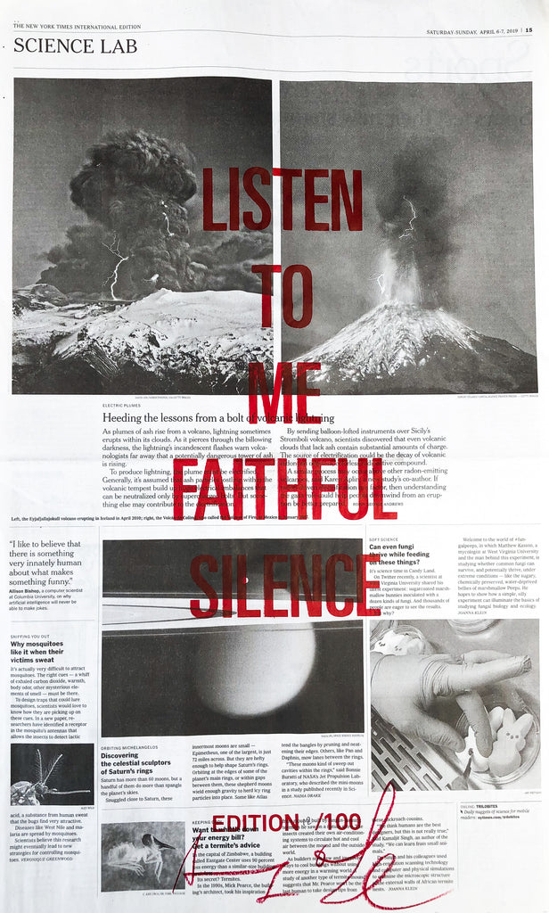 LISTEN TO ME FAITHFUL SILENCE