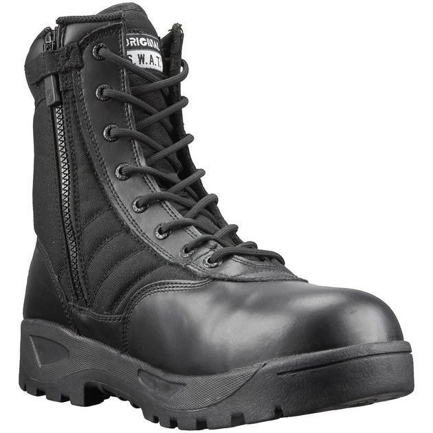 "Classic 9"" Side-Zip Safety Plus Boots"