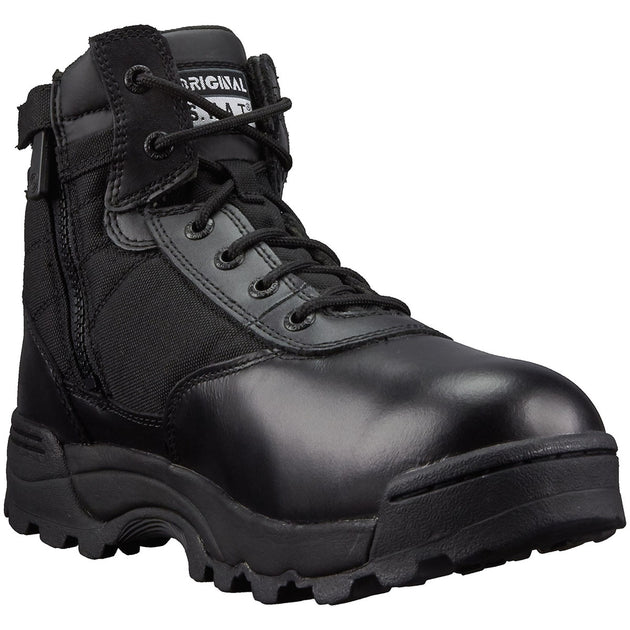 "Classic 6"" Waterproof Side-Zip Safety Toe Boots"
