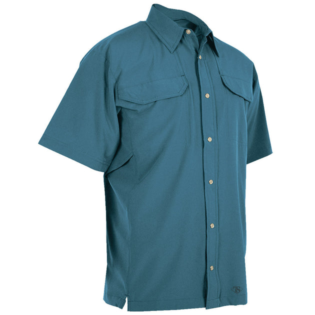 24-7 Series Solid-Color Cool Camp Shirt