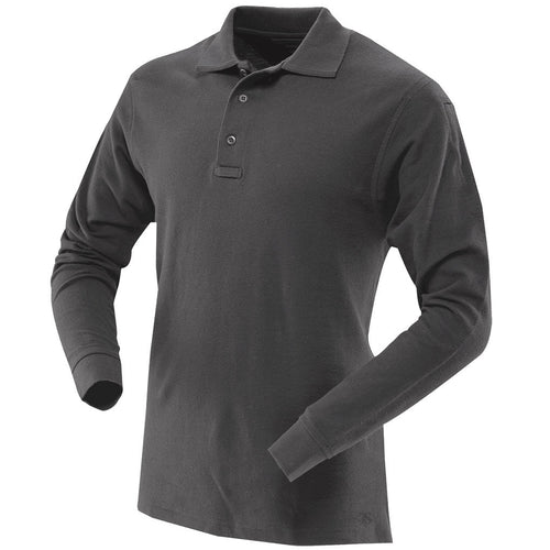 Classic 100% Cotton Long Sleeve Polo for Men