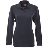 Classic 100% Cotton Long Sleeve Polo for Women