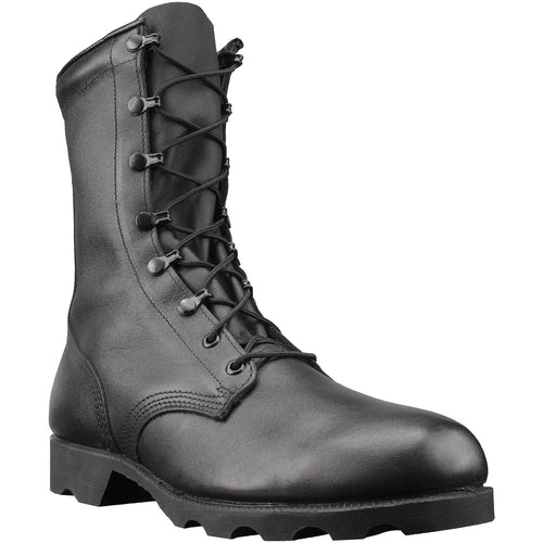 "All Leather 10"" Combat Boots"