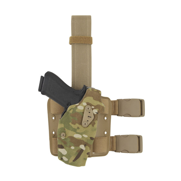 ALS Optic Tactical Leg Holster for Red Dot Optic with Light