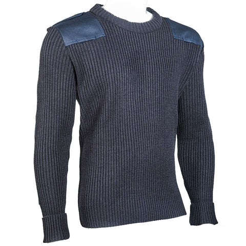 Crew Neck Rib Commando Sweater