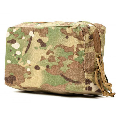 Horizontal Zippered Utility Pouch