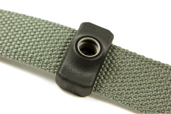 "Fits on any 1"" or 1.25"" sling webbing (Victory Series™ Sling, Vickers Combat Applications Sling™)"