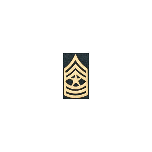Sergeant Major Rank Insignia