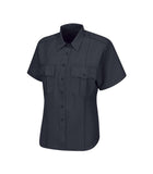 Sentry Short Sleeve Shirt with Zipper for Women
