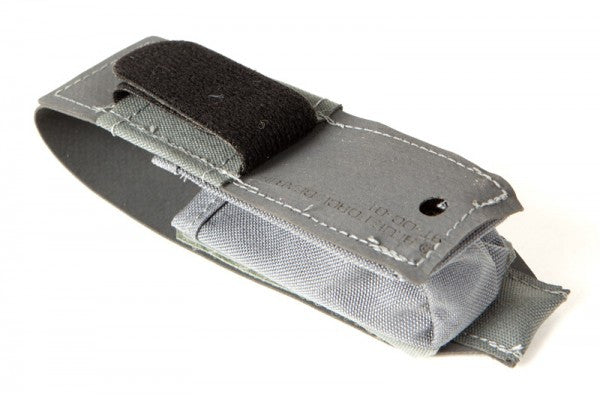 Attaches securely to almost any width belt with adjustable velcro closures