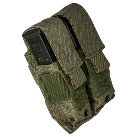Pistol Covered Double Mag Pouch
