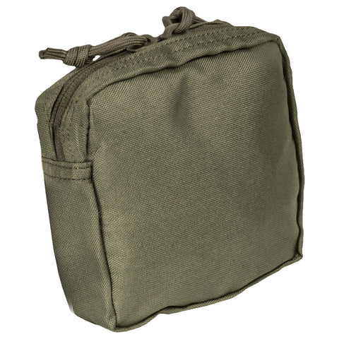 Utility (5x5) Medium Pouch Zippered Top