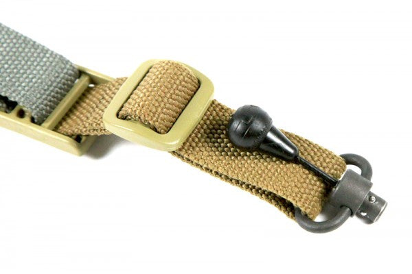Fits most common 1-inch or 1.25-inch slings including all variants of the Vickers Combat Applications Sling™