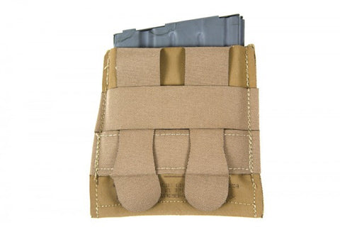 Attaches securely to MOLLE webbing with 2 Helium Whisper Attachment Straps