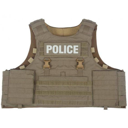 STOP Vest with level IIIa panels