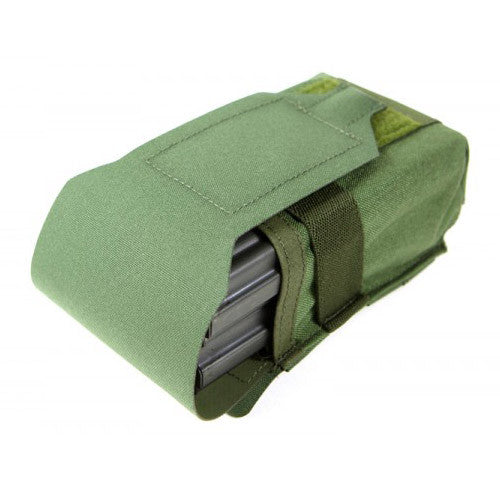 Double SR25 Magazine Pouch With Flap
