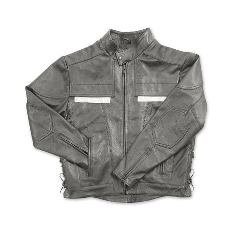 Air Vent Leather Jacket