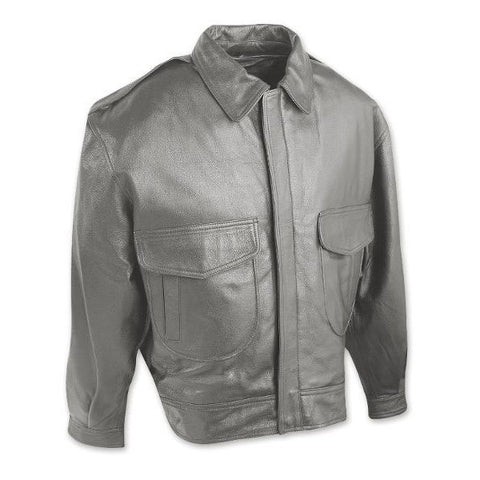 Commerial Pilot Leather Jacket