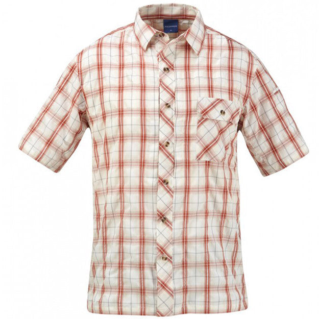 Covert Short Sleeve Button Up Shirt