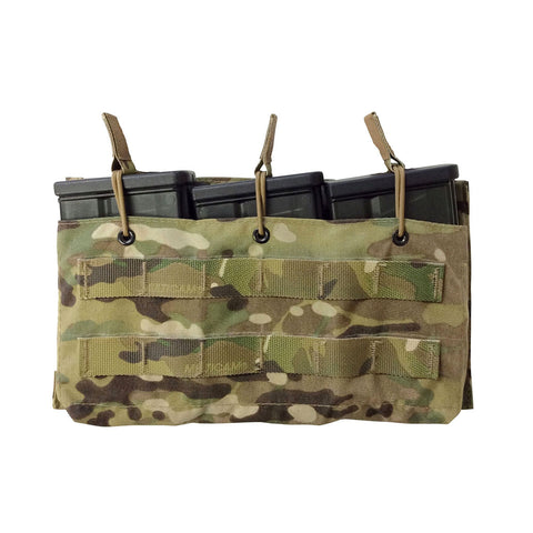 Helium Whisper® Triple HK417 Open Top Mag Pouch