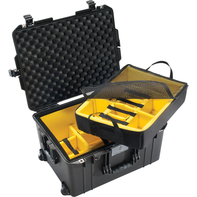 1607 Air Case with Padded Dividers