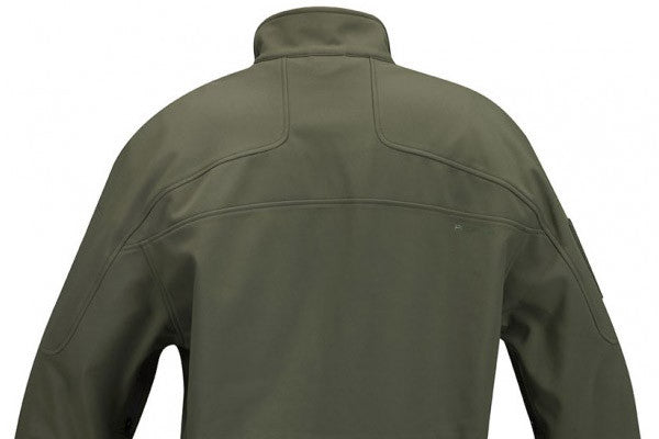 Back of the jacket has structured yoke to give a great, athletic fit.