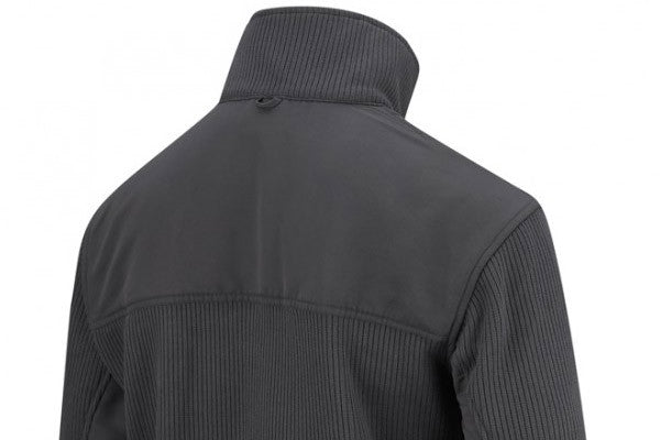 nylon reinforcement on the shoulders and forearms provides extra wear protection.