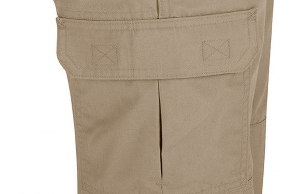 Cargo pocket on each leg is bellowed to keep a crisp look but still hold a ton of gear.