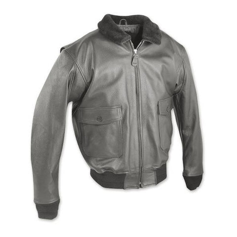 US Navy Leather Jacket