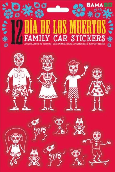 Car Sticker Day Of The Dead