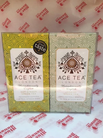 Ace London Hot Ginger and Jasmine Green Tea Gift Set