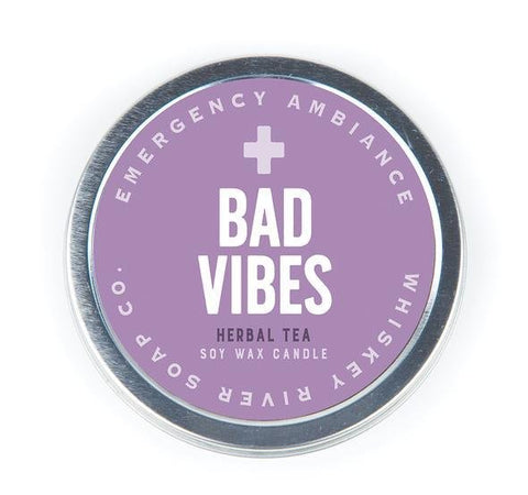 Bad Vibes Emergency Ambiance Candle