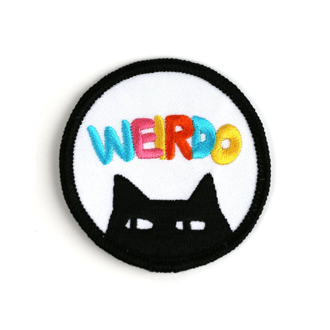 Badge Bomb Weirdo Iron On Patch