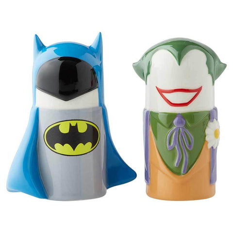 Batman vs Joker Salt and Pepper