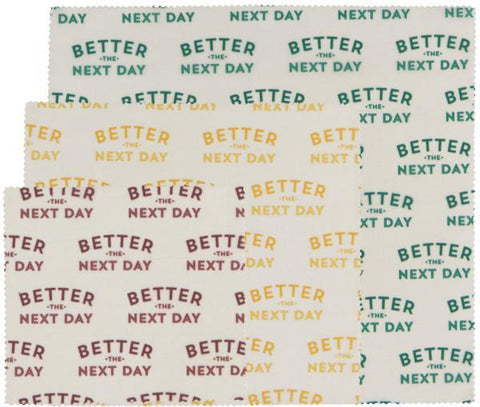 Better Next Day Beeswrap s/3