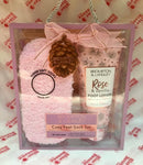 Brompton and Langley Rose Vanilla Cozy Gift Set