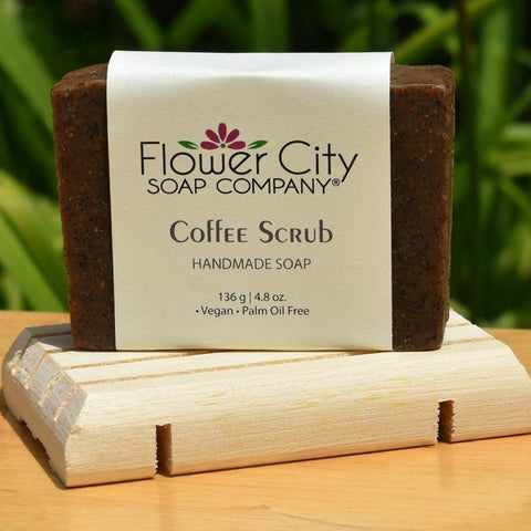 Coffee Scrub and Soap Deck Gift Set