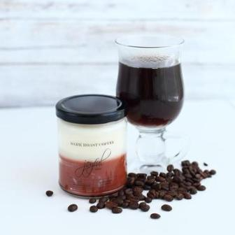 Dark Roast Coffee Soy Candles 8oz