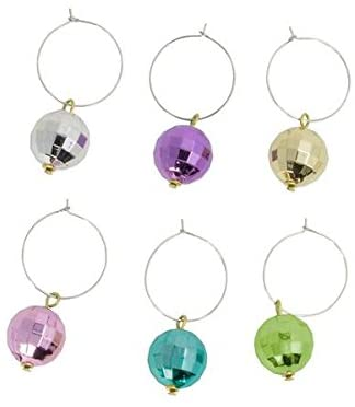 Disco Drink Charms